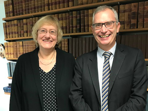Edward Holmes and Ruth Lucas Meesons Directors